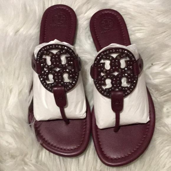 1b5b41edbf7f0 Tory Burch Miller - embellished sandal
